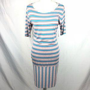 LulaRoe Julia Dress Size Medium. NEW